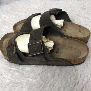 Birkenstock's Soft Bed Arizona Slip On Sandals 40